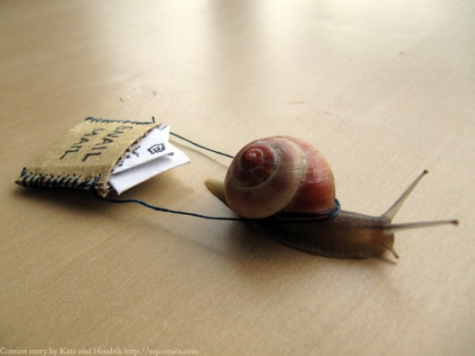 snail mail image