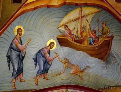 transfigurationchurch1-Iisus pe mare