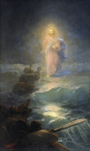 jesus-walks-on-water-1888-1- ivan aivazovski