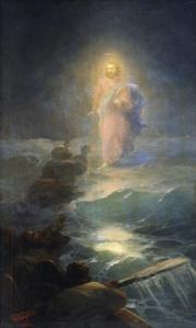 jesus-walks-on-water-1888-1- ivan aivazovski