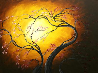 abstract-art-tree-fire-blossoms-by-madart-megan-duncanson