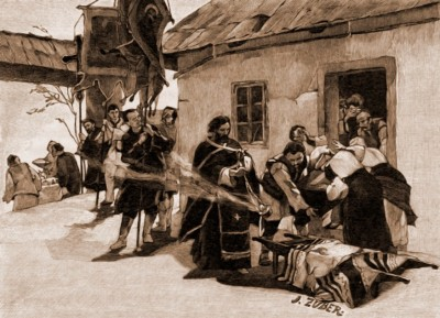 D21-scoaterea mortului din casa, Julius Zuber (1867-1918)