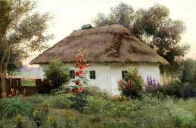 efim-volkoff-peisaj-ucrainean-cu-bordei