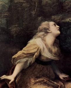Correggio - Noli me tangere_ detail_ St_ Maria Magdalena