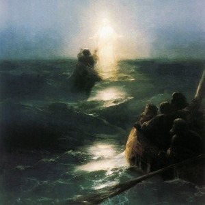 Jesus-walks-on-water-by-Ivan-Aivazovsky